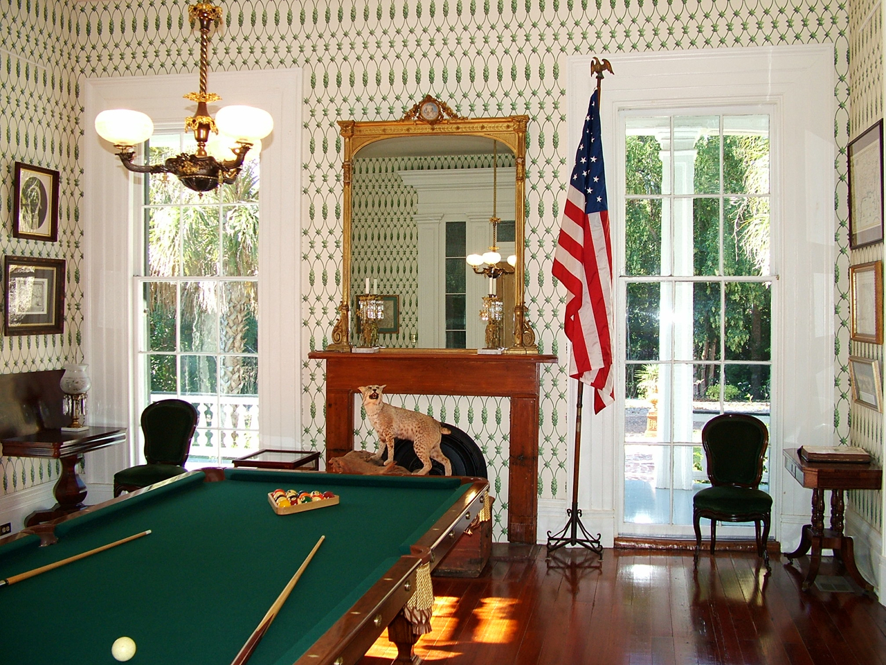 Natchez MS, Stone House Bed and Breakfast